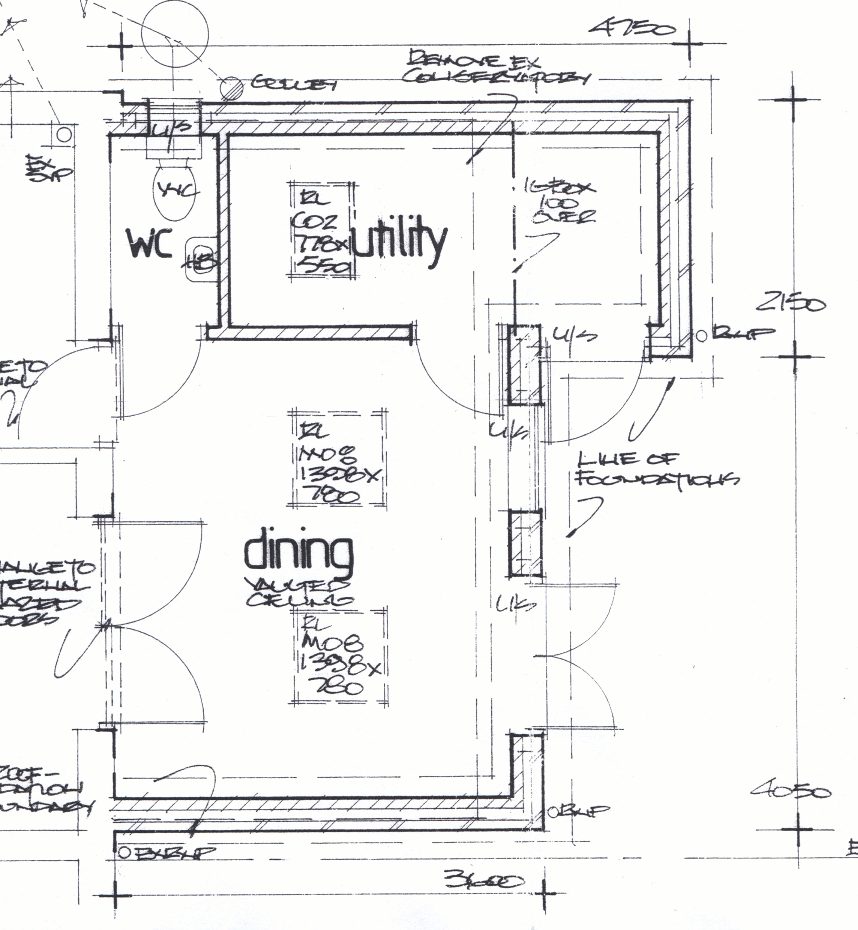 Building Drawing House Plans