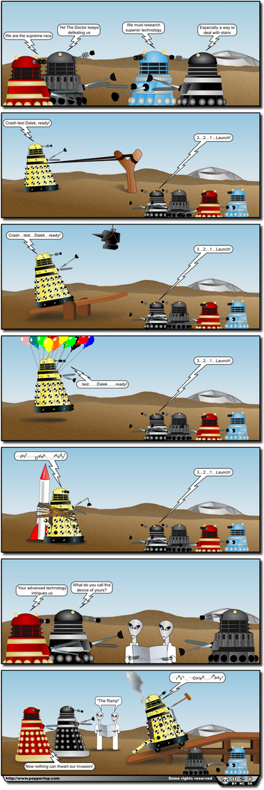Crash Test Dalek