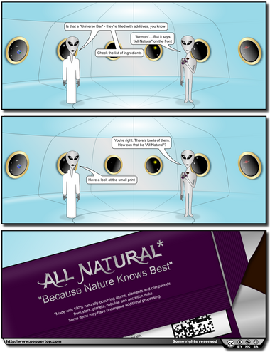 The All Natural* Universe Bar
