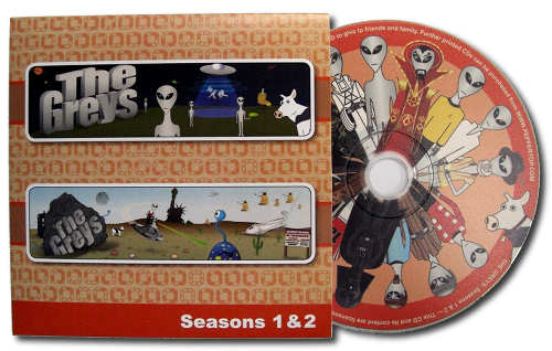 The Greys - Seasons 1 &amp; 2 CD-ROM