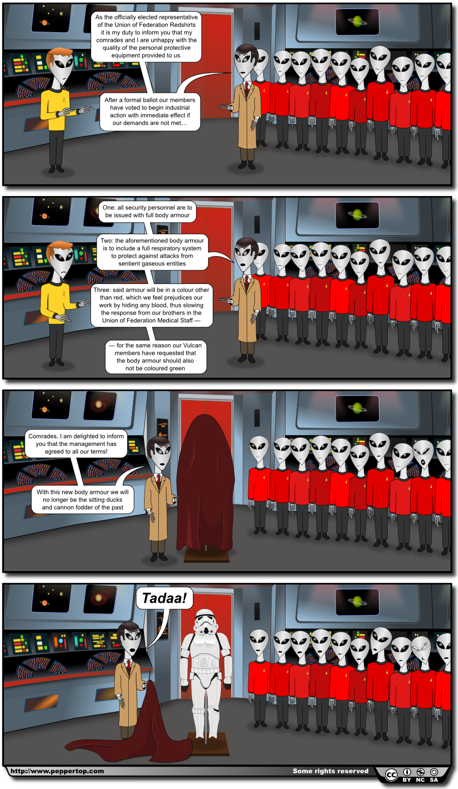 The Union of Federation Redshirts