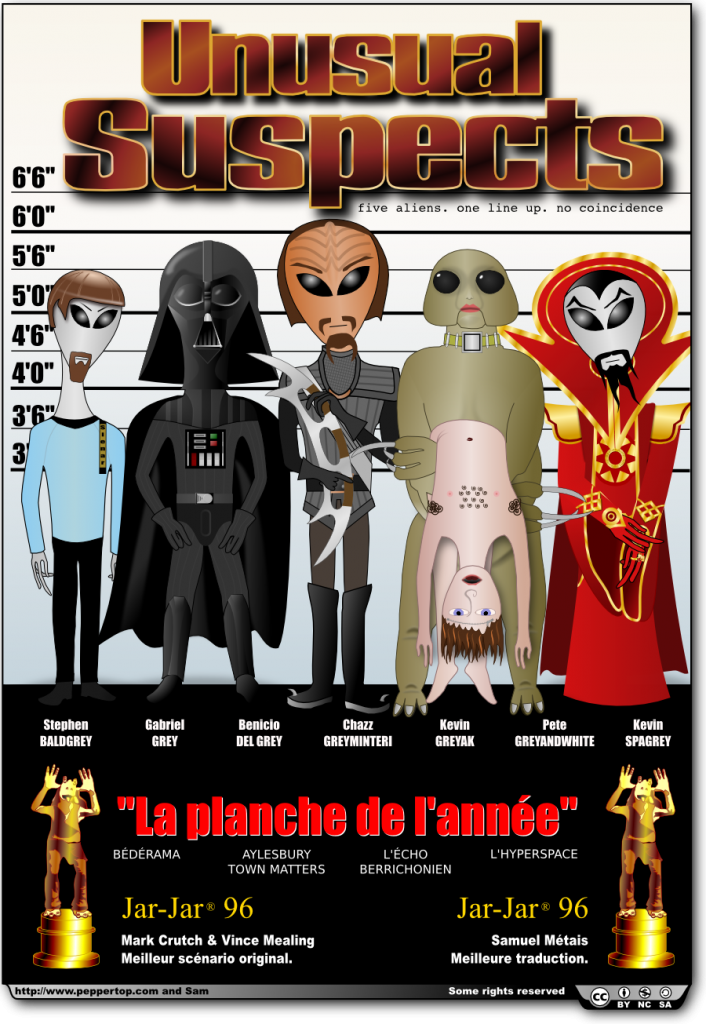 Unusual suspects (French)