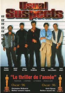 Usual Suspects Poster (French)