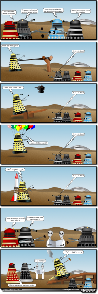 Crash Test Dalek (French)