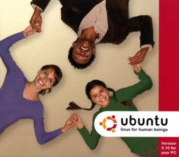 Ubuntu 5.10 CD Cover