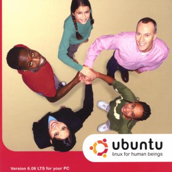 Ubuntu 6.06 CD Sleeve