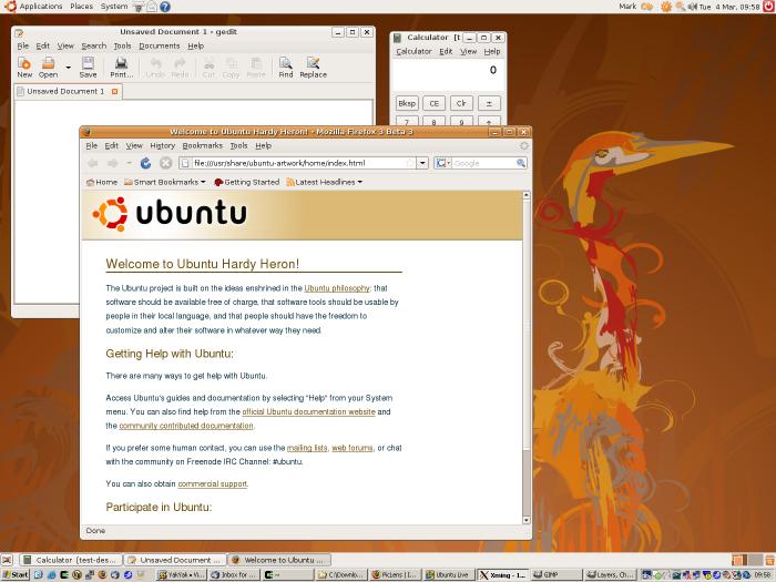 A full Ubuntu desktop via a Windows machine