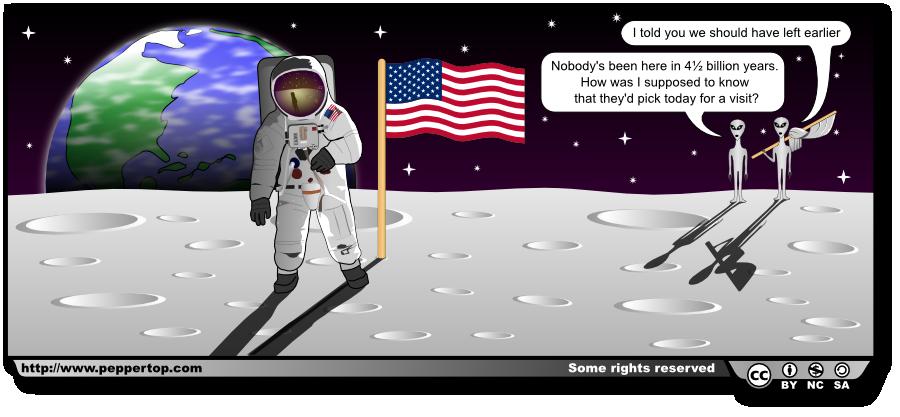 Apollo 11 Anniversary Comic