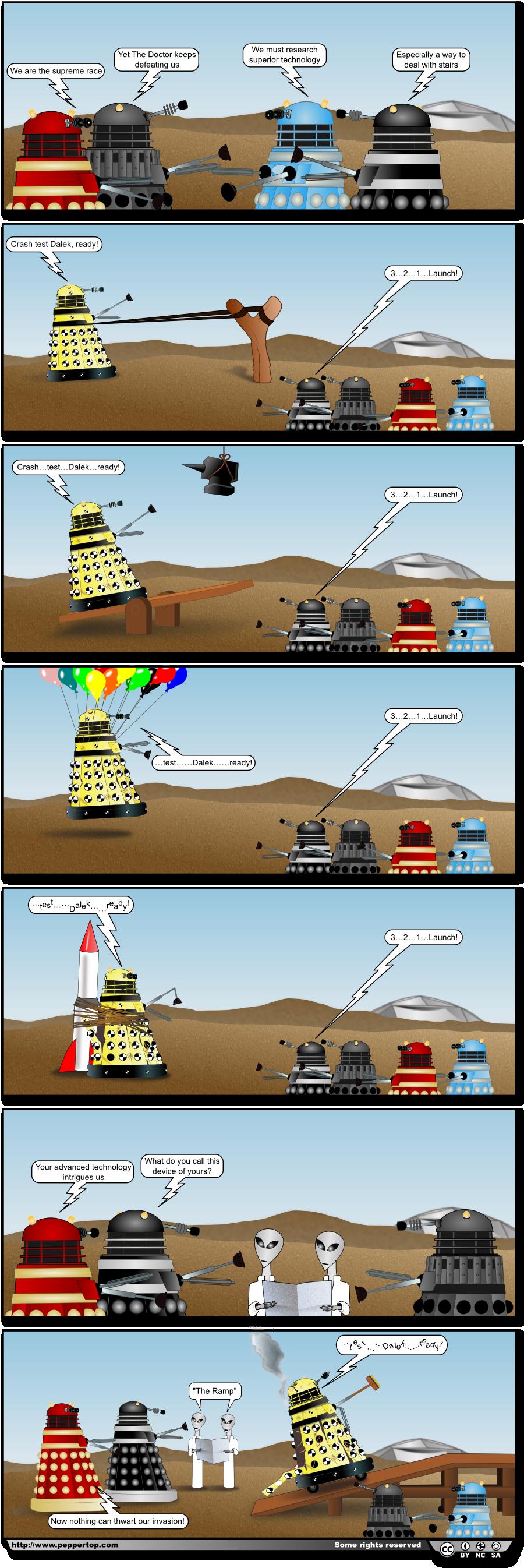 Crash Test Dalek