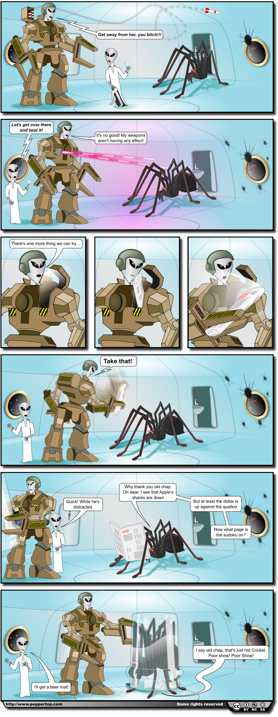 The Spider's From Mars