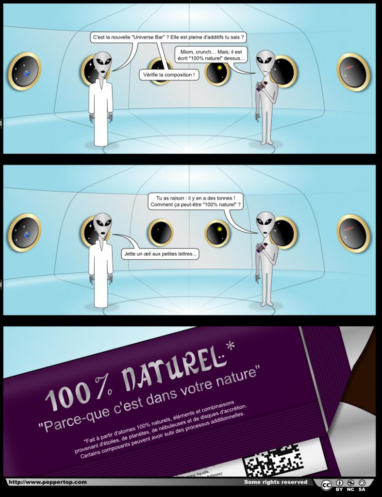 Universe Bar : 100% naturelle